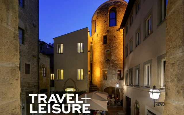 "The Brunelleschi Hotel among the ""Top 5"" hotels in Florence by TRAVEL + LEISURE"